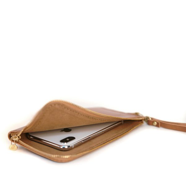L型拉鍊手機袋